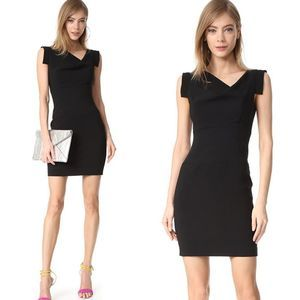 Black Halo | 8 Jackie O Mini Dress Black